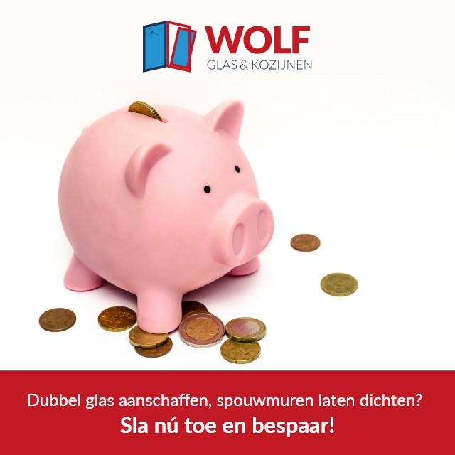 Wolf Glas en Kozijnen subsidie